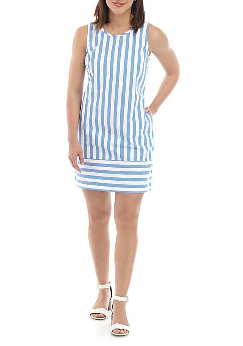 Crown & Ivy™ Sleeveless Bow Shift Dress