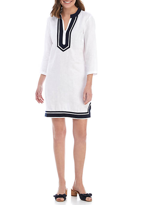 Crown & Ivy™ 3/4 Sleeve Kurta Dress