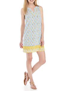 435f12e484c0 ... Crown & Ivy™ Sleeveless Printed Peasant Dress