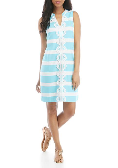 Crown & Ivy™ Sleeveless Crochet Kurta Dress