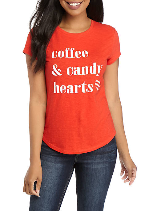 Womens Short Sleeve Graphic T-Shirt