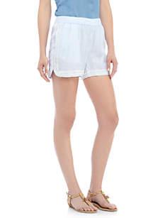 Pom Trim Shorts