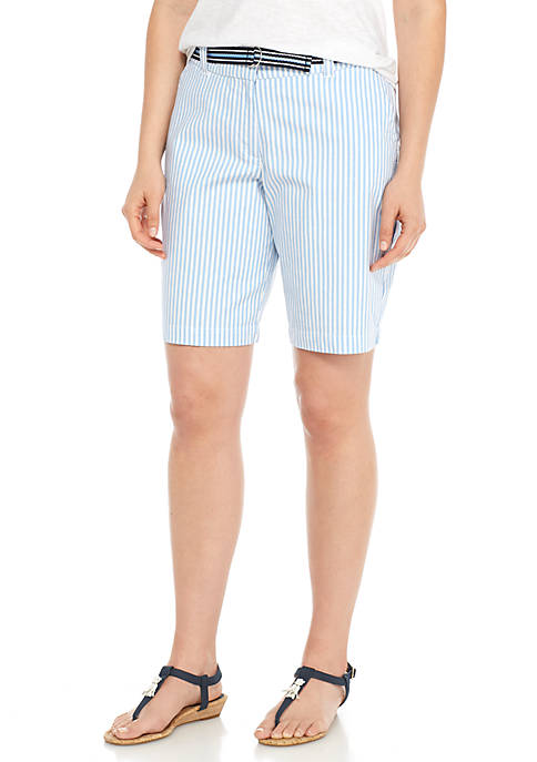 Crown & Ivy™ Stripe Shorts