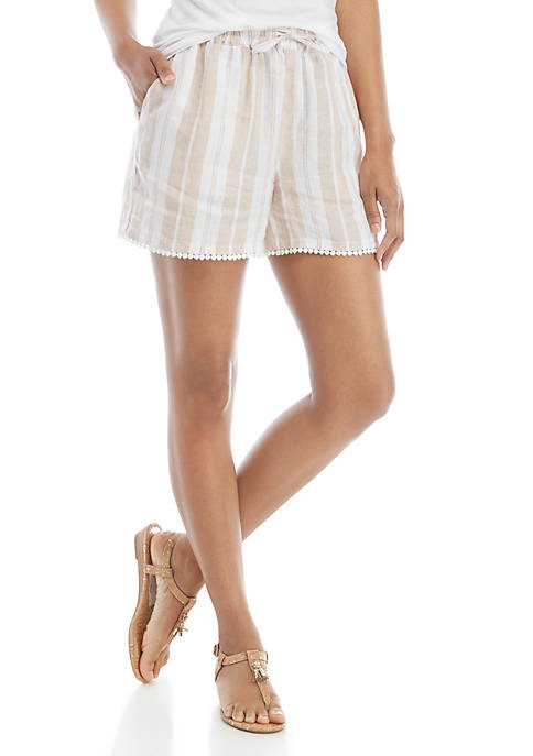 Crown & Ivy™ Tassel Tier Shorts