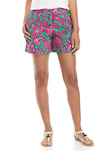 Crown & Ivy™ Caroline Printed Shorts