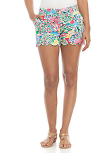 Crown & Ivy™ Scallop Print Shorts