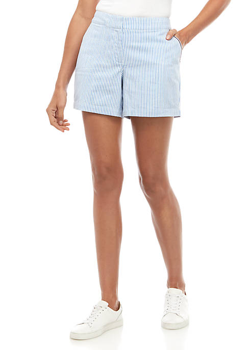 Crown & Ivy™ Mid Rise Shorts