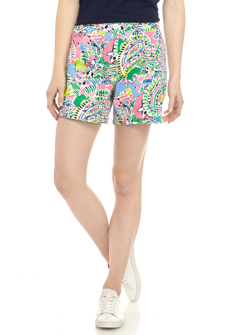 Crown & Ivy™ Womens 5 Inch Printed Shorts