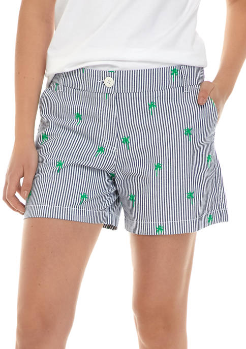 Crown & Ivy™ Womens Mid Rise Shorts