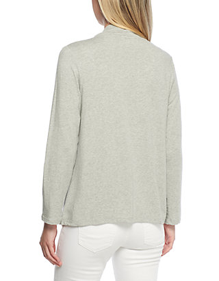 4e624bb63c1 ... Crown   Ivy™ 3 4 Sleeve Cardigan with Back Waist Detail