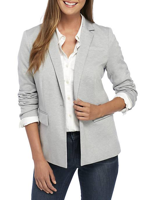 Crown & Ivy™ 1-Button Blazer