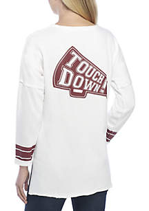3/4 Sleeve Touchdown Knit Top