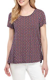 Crown & Ivy™ Short Sleeve Poetry T Shirt