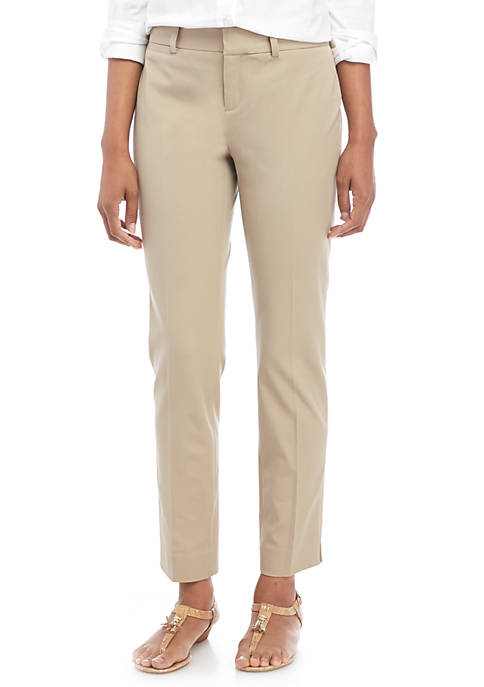Crown & Ivy™ Womens Cary Bi Stretch Fly