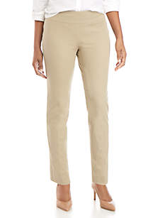 Crown & Ivy™ Ashley Bi Stretch Pull On Pants