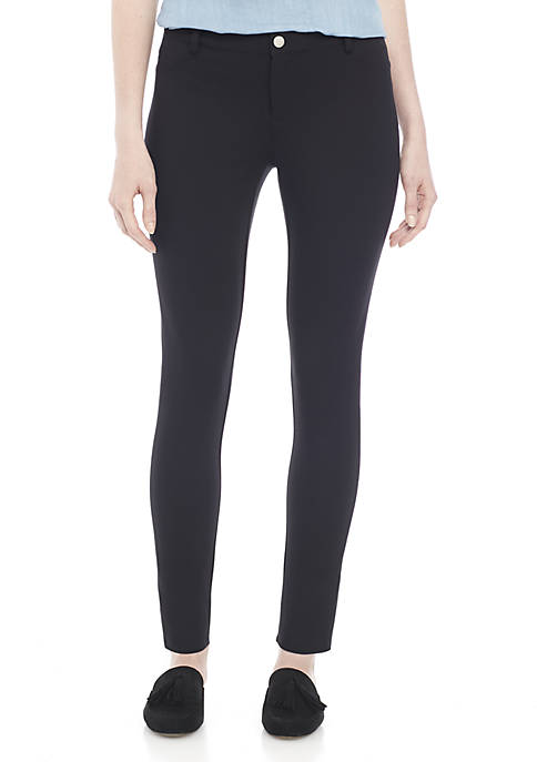 Womens Short Ponte Pants