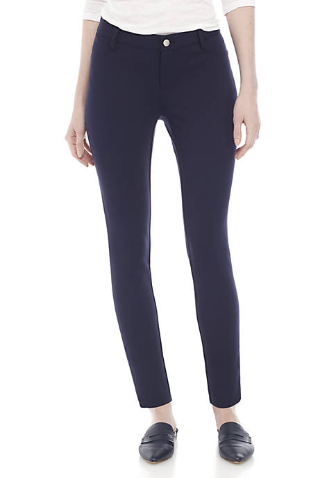 Crown & Ivy™ Womens Short Ponte Pants