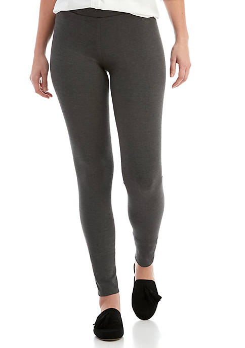 Crown & Ivy™ Womens Heather Leggings