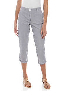Crown & Ivy™ Charlotte Relaxed Rolled Chinos