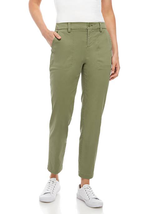 Crown & Ivy™ Skinny Leg Cropped Pants