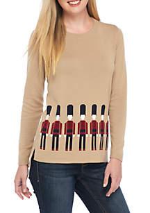 Long Sleeve Nutcracker Sweater