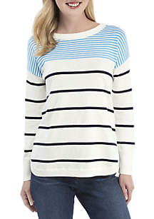 Long Sleeve Striped Sweater