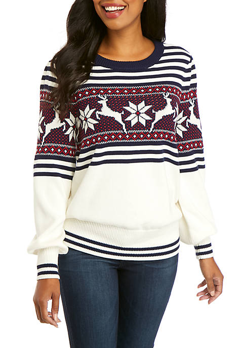 Family of Crown Long Sleeve Sweater