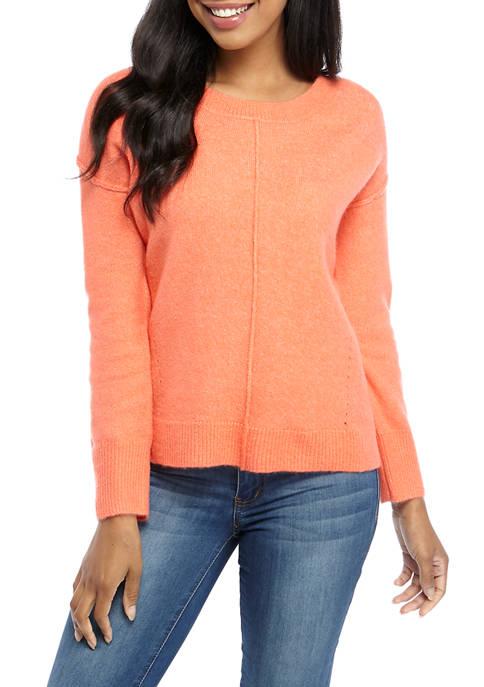 Crown & Ivy™ Womens Long Sleeve Air Spun