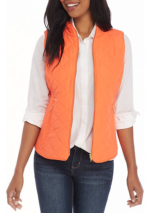 Sleeveless Quilted Vest