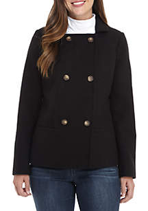Long Sleeve Double Breasted Jacket
