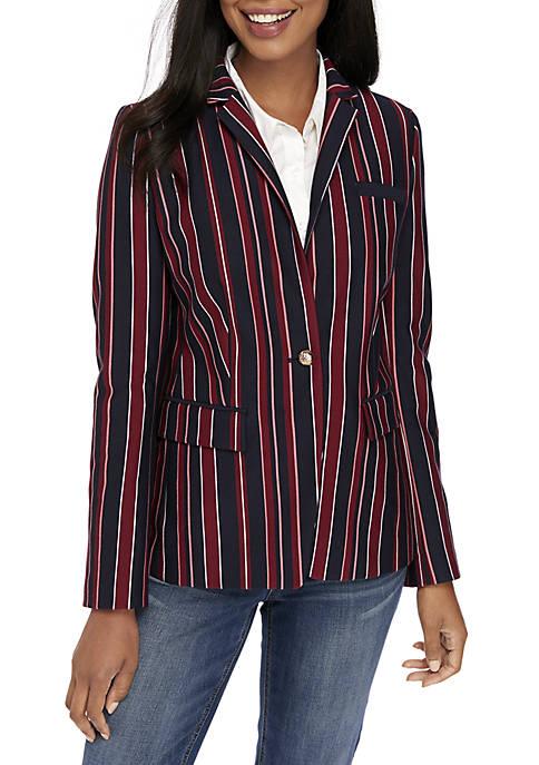 Crown & Ivy™ Long Sleeve Blazer