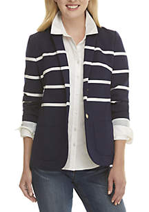 Long Sleeve Nautical Blazer
