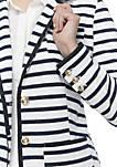 Long Sleeve Striped Blazer