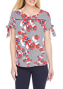 Mommy and Me Tie Sleeve Top