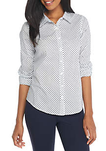 Crown & Ivy™ Core Woven Shirt