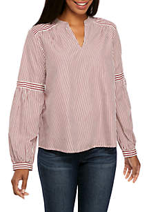Long Sleeve Stripe Play Top