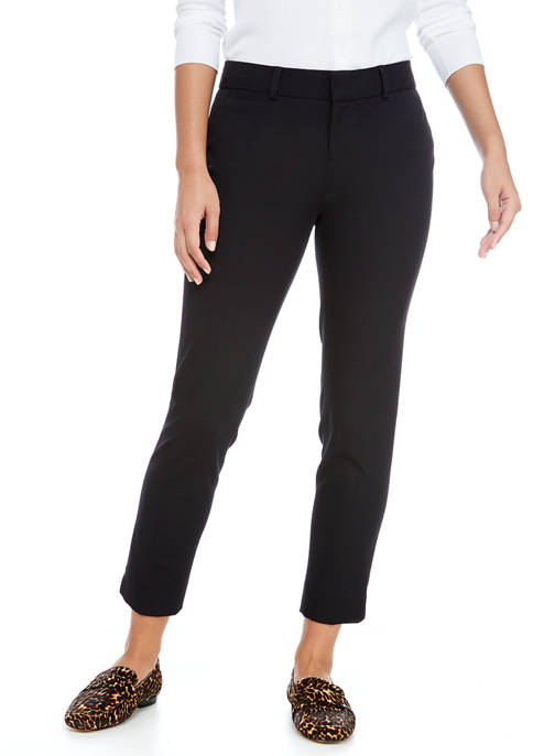 Crown & Ivy™ Petite Bi Stretch Pants