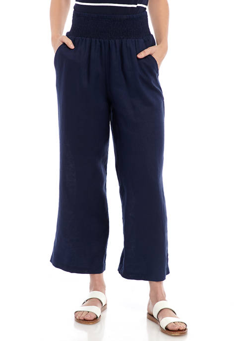 Crown & Ivy™ Petite Smocked Soft Pants