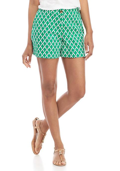 Crown & Ivy™ Petite Caroline Classic Shorts