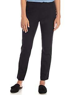 Crown & Ivy™ Petite Ashley Bi Stretch Pull On Pants