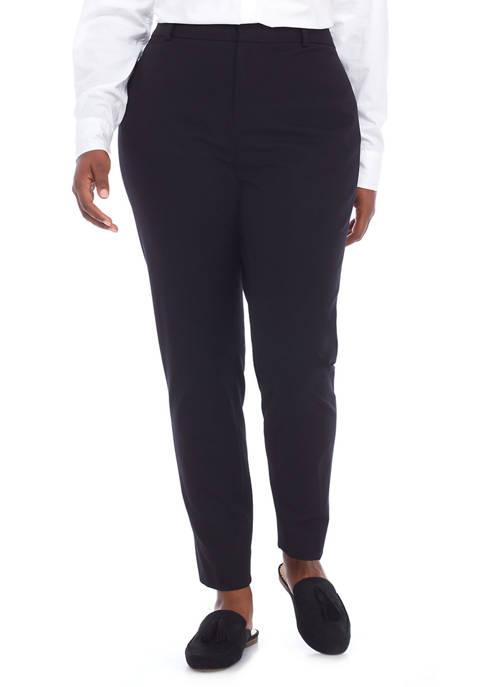 Plus Size Bi Stretch Pants- Regular