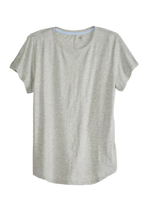 Plus Size Heathered T-Shirt