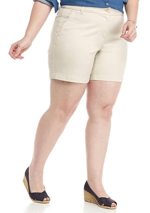 Plus Size Caroline Classic Shorts