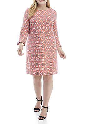 Crown & Ivy Plus Size Dresses   belk