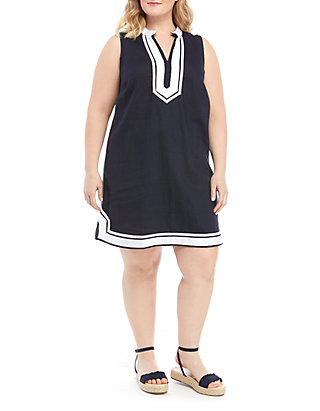 c42b7acff331e Crown & Ivy™. Crown & Ivy™ Plus Size Sleeveless Kurta Dress