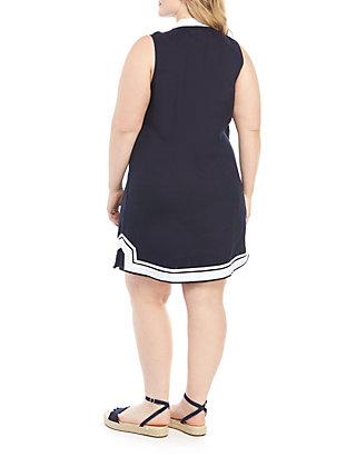 8a2a2210addc5 ... Crown & Ivy™ Plus Size Sleeveless Kurta Dress ...