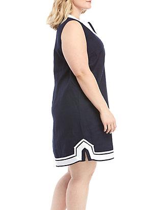 45af7ce02944a Crown & Ivy™ Plus Size Sleeveless Kurta Dress   belk