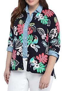 Crown & Ivy™ Plus Size- Core Cardigan