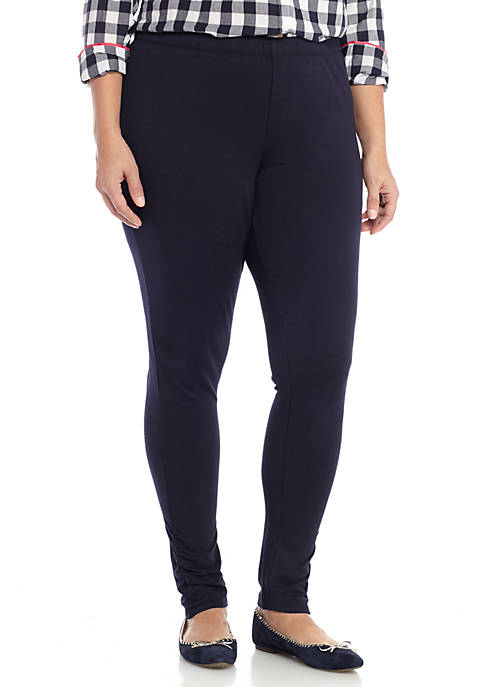 Crown & Ivy™ Plus Size Ruched Legging