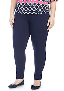Crown & Ivy™ Solid Bow Legging